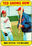 Ted Williams talks hitting with Mike Epstein